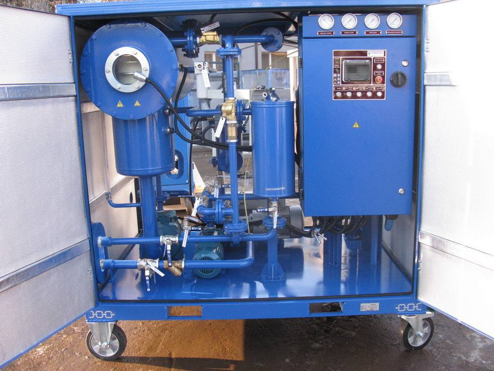 Transformer oil purification system Globecore CMM 2.2