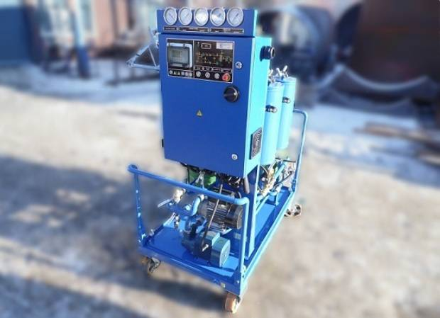 Automated Oil Purification Unit Sold