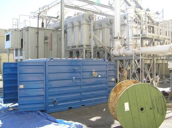 Transformer Oil Purification Plant Sucessfully Commissioned in Saudi Arabia