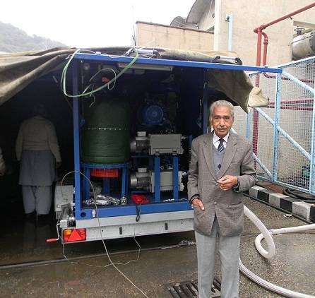Transformer Oil Degassing Plant Successfully Commissioned in Pakistan